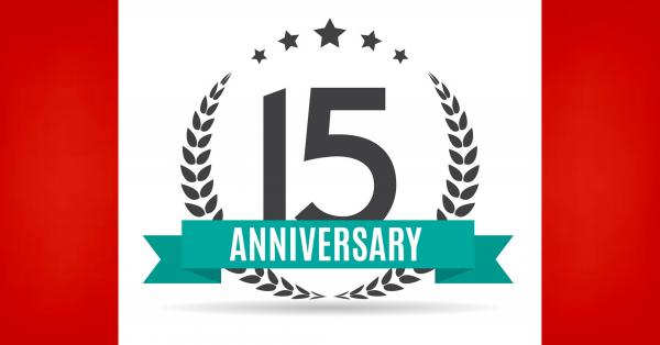 祝贺【张学勇移民】成立15周年,感谢您与我们风雨同舟荏苒15载